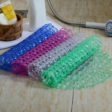 New Bathroom Tub Non-Slip Bath Floor Mat Shower Tub Mats Plastic Rubber PVC