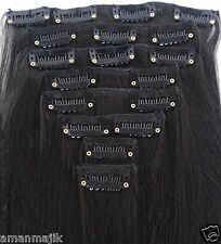 Majik (7 Pieces ) Straight Full Head Clip-in- Hair Extensions, Premium Quality !