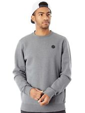 Volcom Pullover Single Stone Crew Dark Grau