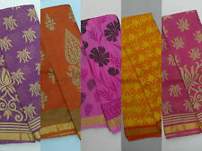 Women's Ethnic Wear Kota Art Silk Printed Sarees With Blouse