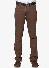 Branded Slim Fit Jeans For Men Brown Colour Strechable Jeans