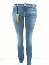 jeans pantalone donna Cycle cotone elasticizzato mod. WPT563 D1048  made Italy