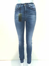 jeans pantalone donna Cycle cotone elasticizzato mod. WPT492 D1138 made Italy
