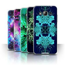 STUFF4 Phone Case/Back Cover for Samsung Galaxy J3 /Symmetry Pattern