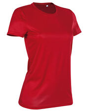 Womens Sport T-Shirt, Very Elastic Fabric, 100% ACTIVE-DRY. ST8100