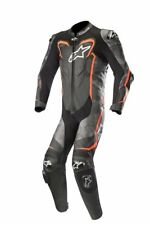 Alpinestars GP PLUS SUIT 1PC White/Black/RED/Flu 1 Piece Leather Motorcycle Suit