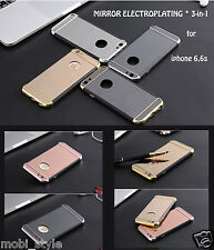 Mirror Plating Cover For iPhone 6,6S  Case Luxury TPU Frame Protective Hybrid
