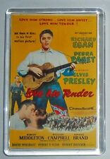 Love Me Tender Wild in the Country Tickle Me Elvis movie poster fridge magnet