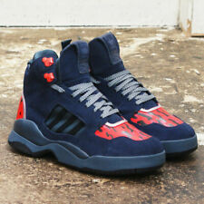 NEW Adidas x Opening Ceremony Blue EQT Trail High Top Trainers GENUINE RRP: £175