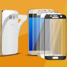 SCHUTZHÜLLE CASE + 3D Curved Glasfolie Panzerfolie FULL SCREEN Schutz Glas Folie