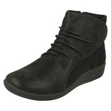 Clarks Mujer Con Cremallera Nube Steppers Botas Sillian Chell