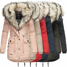Navahoo Sweety 2in1 Damen Winter Jacke Parka Mantel Winterjacke warm Fell B365