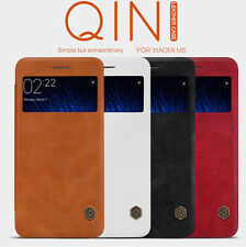 Nillkin Qin Leather Luxary Back Flip Cover Case For Xiaomi MI5