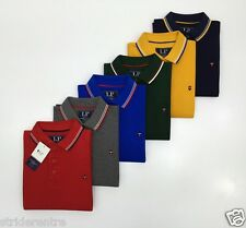 Louis Philippe Solid Men's Polo T-shirt