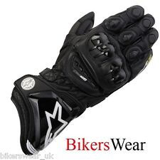 Alpinestars GP Pro Leather  Gloves Black Cheapest on ebay while stock last