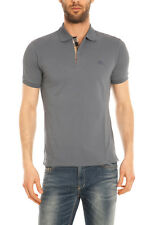 Polo Burberry Polo Shirt % Oxford Uomo Grigio 3995507-45350