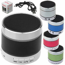 BLUETOOTH WIRELESS ALTOPARLANTE PORTATILE LUCE LED DANZA PER CELLULARI MP3