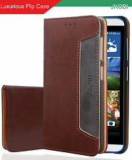 Professional Magnetic PU Leather Flip Wallet Case Cover For HTC One E9s
