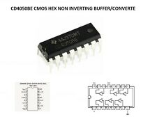 IC CD4050BE CD4050 CMOS HEX NON INVERTING BUFFER/CONVERTER Texas Instruments