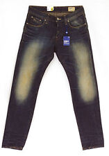 G STAR RAW jeans homme 3301 Low Tapered Dark Aged Used jauni 50779 5169 89