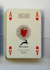 1956 vecchie carte da gioco Modiano vintage playing cards