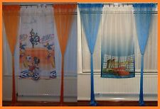 Disney Mickey Mouse * Cars voile curtain and string panels set