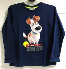 CAMISETA NIÑO MASCOTAS MAX The Secret Life of Pets MAGLIETTA T-SHIRT Футболка