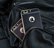 "Luxury PU Leather Shockproof Soft TPU Back Case Cover For ""Apple iPhone 5/5S/SE"""