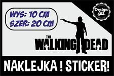 Naklejka naklejki The Walking Dead jednokolorowa na tablet laptop