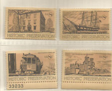 USA = 4X MINT STAMPS - HISTORIC PRESERVATION