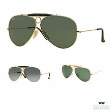 Ray Ban RB3138 SHOOTER occhiali da sole aviator originali uomo donna sunglasses