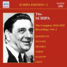 The Complete 1924-1925 Recordings Vol. 2 - SCHIPA TITO [CD]