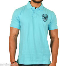 Stunning Cyan Blue Polo T-Shirt