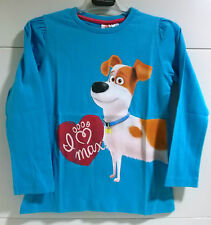 CAMISETA NIÑA MASCOTAS MAX The Secret Life of Pets MAGLIETTA T-SHIRT Футболка