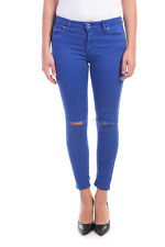 Jeans Please Jeans -40% MADE IN ITALY Donna Blu P19IEG550-647