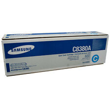 GENUINE SAMSUNG CLX-C8380A CYAN LASER PRINTER TONER CARTRIDGE / ORIGINAL TONER