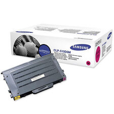 GENUINE SAMSUNG CLP-510D5M (510D5M) MAGENTA LASER PRINTER TONER CARTRIDGE