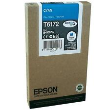 GENUINE EPSON STYLUS BUSINESS COLOR - CYAN (BLUE) ORIGINAL INK CARTRIDGE T6172
