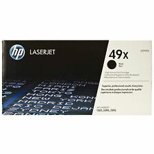 GENUINE HP Q5949X / 49X HIGH CAPACITY XL BLACK LASER TONER PRINTER CARTRIDGE