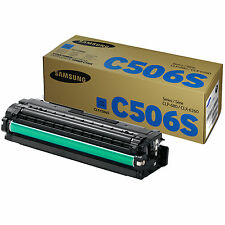 GENUINE SAMSUNG CLT-C506S/ELS (C506S) CYAN LASER PRINTER TONER CARTRIDGE