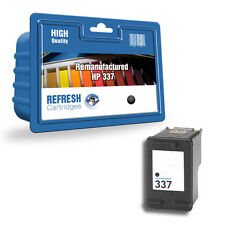 1 HP 337 BLACK REMANUFACTURED INK CARTRIDGE FOR HP / HEWLETT PACKARD PRINTERS