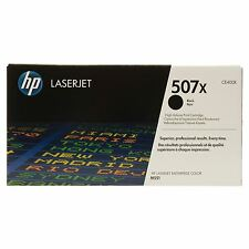 GENUINE HP HEWLETT PACKARD CE400X / 507X BLACK HIGH CAPACITY TONER CARTRIDGE