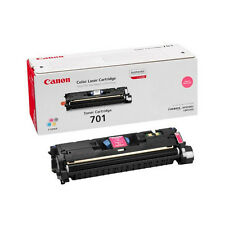 GENUINE CANON 701 / CRG-701M / 9285A003AA MAGENTA LASER PRINTER TONER CARTRIDGE