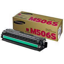 GENUINE SAMSUNG CLT-M506S/ELS (M506S) MAGENTA LASER PRINTER TONER CARTRIDGE