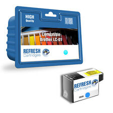 COMPATIBLE BROTHER LC-01C CYAN PRINTER INK CARTRIDGE (LC-01 SERIES)