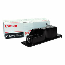 GENUINE CANON C-EXV3 / 6647A002AA BLACK LASER PRINTER TONER CARTRIDGE