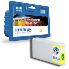 REMANUFACTURED (NON GENUINE) T7014 YELLOW INK CARTRIDGE FOR EPSON WORKFORCE PRO