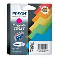 GENUINE EPSON STYLUS MAGENTA FILES SERIES INK CARTRIDGE T0423 / C13T04234010