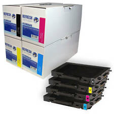 REMANUFACTURED LASER TONER CARTRIDGE SINGLE / RAINBOW PACK FOR XEROX PHASER 6100