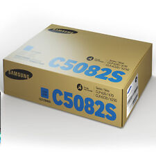 GENUINE SAMSUNG CLT-C5082S ORIGINAL CYAN LASER PRINTER TONER CARTRIDGE